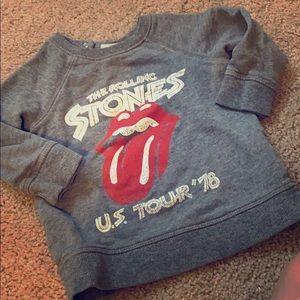 The Rolling Stones crew neck